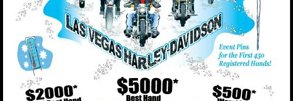 Las Vegas Harley-Davidson Frosty Balls X Poker Run – January 7, 2012